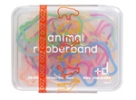Zoo Animal Rubber Bands - 24 Piece Box