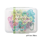 Farm Animal Rubber Bands - 28 Piece Box